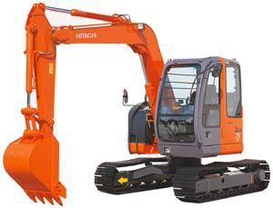 Экскаватор Hitachi ZX75US-A